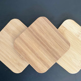 Bamboo Lids for 10 ounce Candles