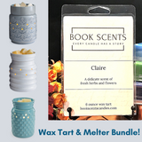 Wax Melter + 6 ounce Tart Bundle
