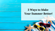 Top 3 Ways to Make Your Summer Better with Book Scents!