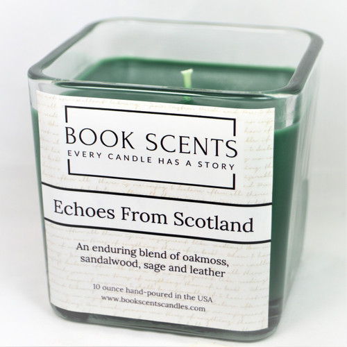 Echoes from Scotland Outlander scented candle