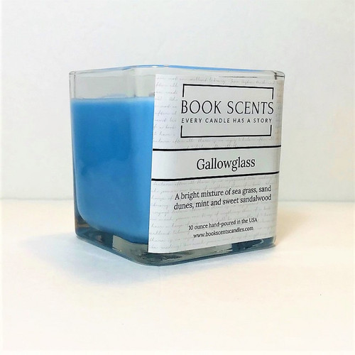 Gallowglass scented character candle, A Discovery of Witches, All Souls