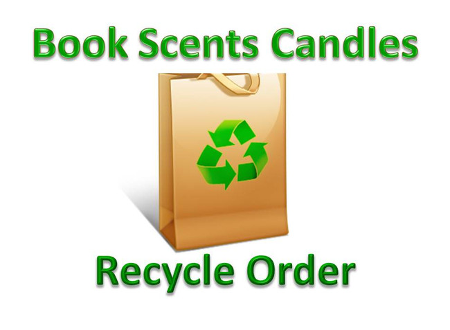 Refill Scented Candles Recycle Glass Containers