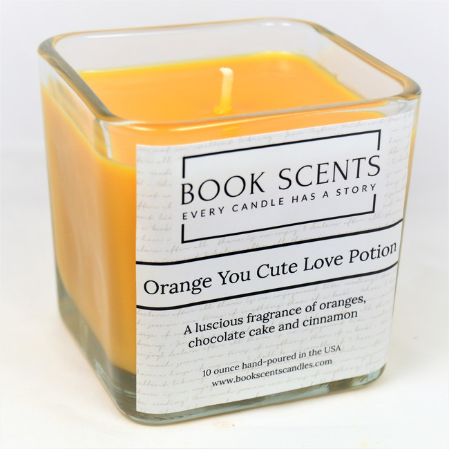 Orange You Cute Love Potion Scented Candle - perfect for wizards and muggles!