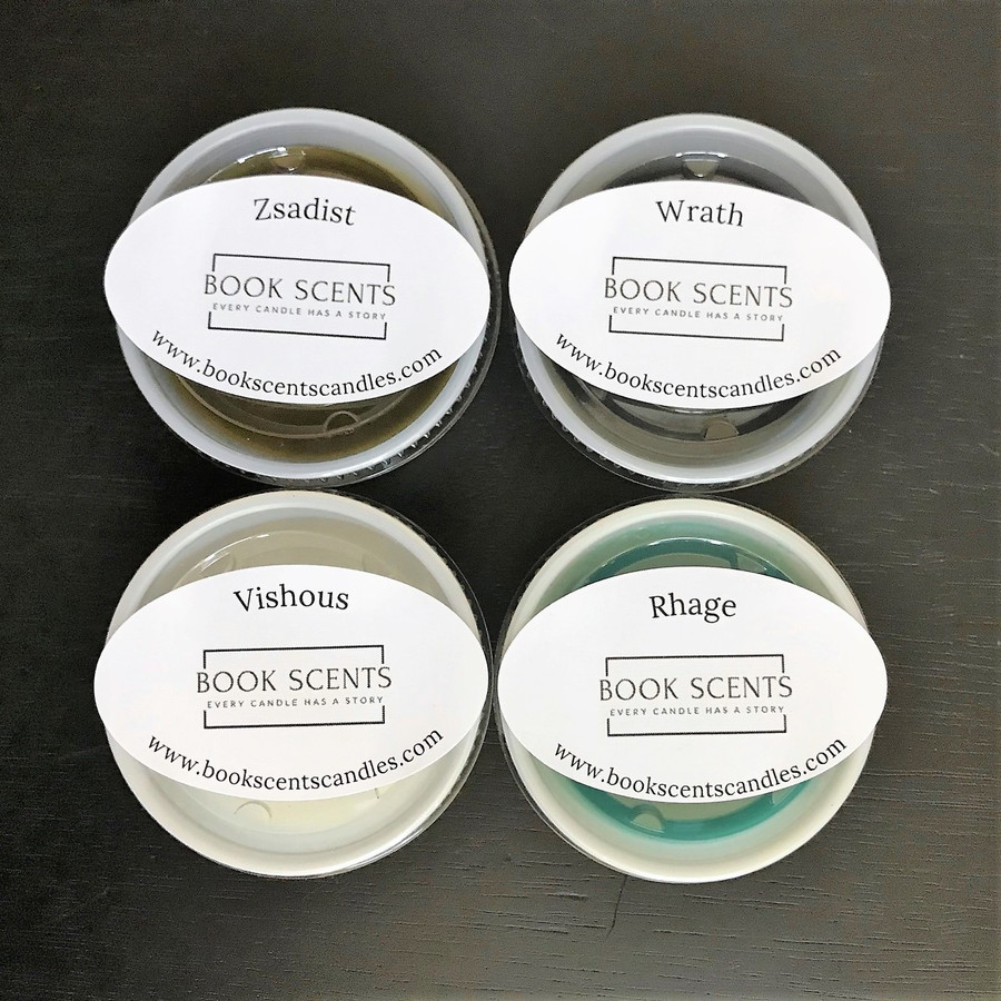 Sample Fragrances - 4 Pack of Wax Shots