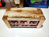 Ambrosia Maple  IN12 Panel mount 6 bulb nixie clock