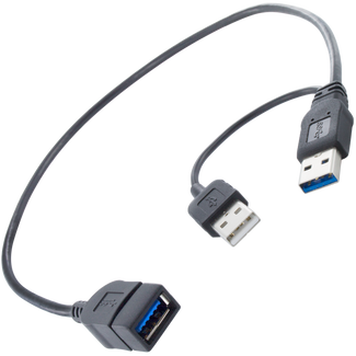 USB3 Power Adapter Y-Cable