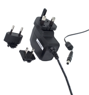 AC Adapter for Aegis Padlock Desktop Drives for UK and EU