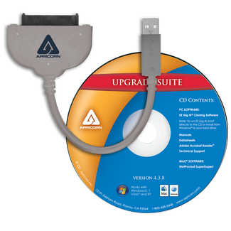 "SATA Wire 3.0 - USB 3.0 Interface to any 2.5"" SATA Drive"