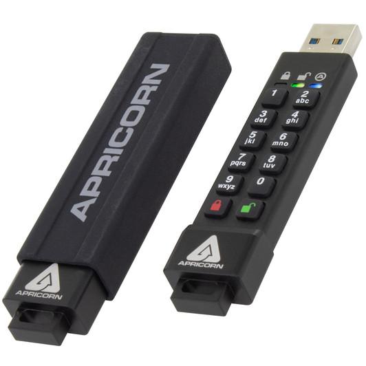 USB 3.0 Flash Drive Apricorn Aegis Secure Key ASK-256-30GB 暗号化USBメモリ MM1275 ASK3-30GB