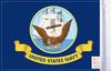 FLG-NAV  U.S. Navy 6x9 flag (BACK)