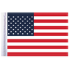 """6""""x9"""" Highway Flag:  United States of America"""