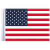 """10""""x15"""" Highway Flag:  United States of America"""