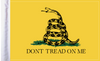 FLG-DTOM Gadsden Don't Tread on Me 6x9 flag