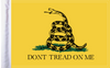 FLG-DTOM15 Gadsden Don't Tread on Me 10x15 flag