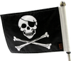"""6"""" x 9"""" Flag on 9"""" Pole with standard cone topper (pole not included)"""