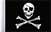 FLG-JR Jolly Roger flag 6x9