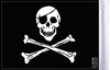 FLG-JR Jolly Roger flag 6x9 (BACK)