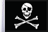 FLG-JR15 Jolly Roger flag 10x15