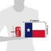 """6""""x9"""" Texas flag (size comparison view)"""