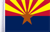 FLG-AZ Arizona Flag 6x9
