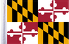 FLG-MD  Maryland Flag 6x9