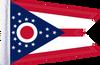 FLG-OH  Ohio flag 6x9
