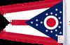 FLG-OH  Ohio flag 6x9 (BACK)