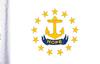 FLG-RI  Rhode Island Flag 6x9
