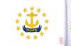 FLG-RI  Rhode Island Flag 6x9 (BACK)