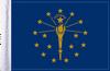 FLG-IN  Indiana Flag 6x9
