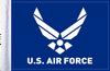 FLG-AFL U.S. Air Force (wings) 6x9 flag