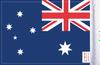 FLG-AUS Australia Flag 6x9  (BACK)