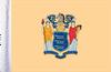 FLG-NJ  New Jersey Flag 6x9