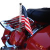 "#RFM-RDHB12 extended 1/2"" flag mount on Detachable Harley Air Wing Rack side rail (rack not included)"