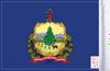 FLG-VT  Vermont flag 6x9 (BACK)