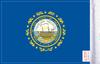 FLG-NH  New Hampshire Flag 6x9 (BACK)