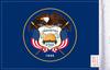 FLG-UT  Utah Flag 6x9 (BACK)
