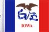 FLG-IA  Iowa Flag 6x9