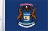 FLG-MI  Michigan Flag 6x9