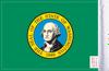FLG-WA  Washington flag 6x9 (BACK)