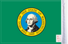 FLG-WA  Washington flag 6x9 (BACK)