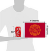 "6""x9"" Fire Dept / Firefighter flag (size comparison view)"