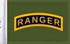 FLG-RNGR15 Army Ranger flag 10x15