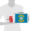 "6""x9"" RETIRED U.S. Coast Guard flag (size comparison view)"