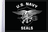 FLG-NVSEAL15  Navy Seals 10x15 Flag