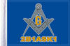 FLG-BLM15  Blue Lodge Mason flag 10x15