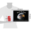 """10""""x15"""" United We Stand flag (size comparison view)"""