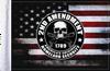 FLG-HS2AMND Homeland Security Second Amendment flag 6x9