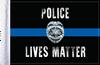FLG-PLM  Police Lives Matter 6x9 flag
