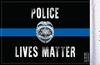 FLG-PLM  Police Lives Matter 6x9 flag (BACK)